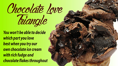Chocolate Luv Triangle